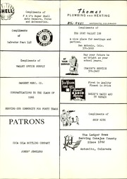 Page 53, 1966 Edition, Antonito High School - Warrior (Antonito, CO) online yearbook collection