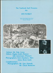 Page 5, 1979 Edition, Silver State Baptist High School - Patriot Yearbook (Lakewood, CO) online yearbook collection