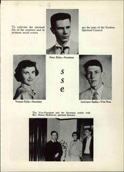 Page 11, 1953 Edition, St Joseph High School - Trail Yearbook (Denver, CO) online yearbook collection