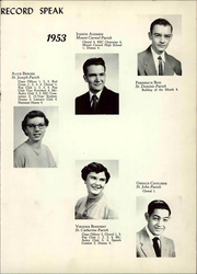 Page 15, 1953 Edition, St Joseph High School - Trail Yearbook (Denver, CO) online yearbook collection