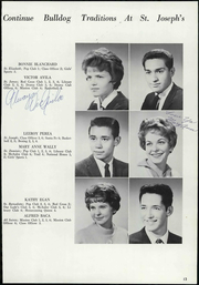 Page 17, 1962 Edition, St Joseph High School - Trail Yearbook (Denver, CO) online yearbook collection