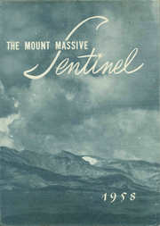 Page 1, 1958 Edition, Leadville High School - Sentinel Yearbook (Leadville, CO) online yearbook collection