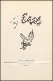 Page 7, 1949 Edition, Gilpin County High School - Gilpinite Yearbook (Black Hawk, CO) online yearbook collection