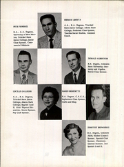 Page 12, 1959 Edition, Primero High School - Bulldog Yearbook (Weston, CO) online yearbook collection