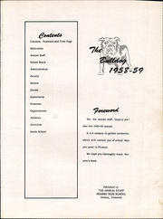 Page 5, 1959 Edition, Primero High School - Bulldog Yearbook (Weston, CO) online yearbook collection