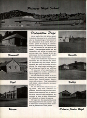 Page 6, 1959 Edition, Primero High School - Bulldog Yearbook (Weston, CO) online yearbook collection