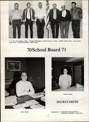 Page 6, 1971 Edition, Primero High School - Bulldog Yearbook (Weston, CO) online yearbook collection