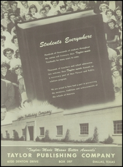 Bent County High School - Trojan Yearbook (Las Animas, CO) online yearbook collection, 1951 Edition, Page 89