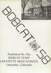 Page 5, 1958 Edition, Lafayette High School - Bobcat Yearbook (Lafayette, CO) online yearbook collection