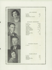 Page 17, 1929 Edition, Flagler High School - Plainsman Yearbook (Flagler, CO) online yearbook collection
