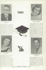 Page 15, 1956 Edition, Peetz High School - Bulldog Yearbook (Peetz, CO) online yearbook collection