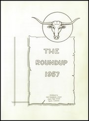 Page 5, 1957 Edition, Agate High School - Roundup Yearbook (Agate, CO) online yearbook collection