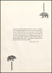 Page 4, 1960 Edition, Platteville High School - Bear Tracks Yearbook (Platteville, CO) online yearbook collection
