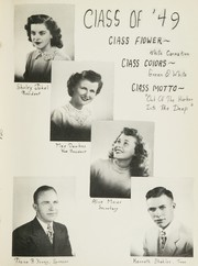 Page 8, 1949 Edition, Keenesburg High School - Skipper Yearbook (Keenesburg, CO) online yearbook collection