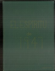 1947 Edition, Claremont High School - El Espiritu Yearbook (Claremont, CA)
