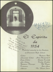 Page 5, 1954 Edition, Claremont High School - El Espiritu Yearbook (Claremont, CA) online yearbook collection