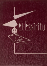 1955 Edition, Claremont High School - El Espiritu Yearbook (Claremont, CA)