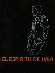 1959 Edition, Claremont High School - El Espiritu Yearbook (Claremont, CA)
