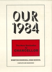 1984 Edition, Winston Churchill High School - Chancellor Yearbook (San Antonio, TX)