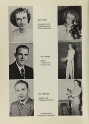 Page 14, 1953 Edition, Middle Park High School - Journeys End Yearbook (Granby, CO) online yearbook collection