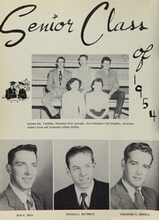 Page 16, 1954 Edition, Middle Park High School - Journeys End Yearbook (Granby, CO) online yearbook collection