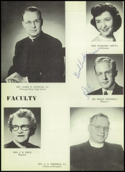 Page 12, 1956 Edition, Saint John Francis Regis High School - Regis Yearbook (Denver, CO) online yearbook collection