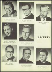Page 14, 1956 Edition, Saint John Francis Regis High School - Regis Yearbook (Denver, CO) online yearbook collection