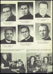 Page 15, 1956 Edition, Saint John Francis Regis High School - Regis Yearbook (Denver, CO) online yearbook collection