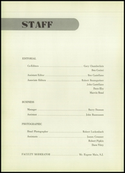 Page 6, 1956 Edition, Saint John Francis Regis High School - Regis Yearbook (Denver, CO) online yearbook collection