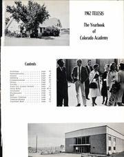 Page 5, 1962 Edition, Colorado Academy - Telesis Yearbook (Denver, CO) online yearbook collection