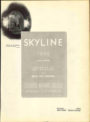 Page 7, 1946 Edition, Colorado Womens College - Skyline Yearbook (Denver, CO) online yearbook collection