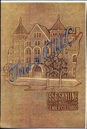 Page 1, 1956 Edition, Colorado Womens College - Skyline Yearbook (Denver, CO) online yearbook collection