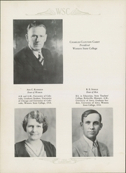 Page 10, 1932 Edition, Western State Colorado University - Curecanti Yearbook (Gunnison, CO) online yearbook collection