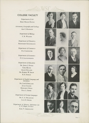 Page 11, 1932 Edition, Western State Colorado University - Curecanti Yearbook (Gunnison, CO) online yearbook collection
