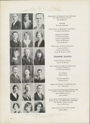 Page 12, 1932 Edition, Western State Colorado University - Curecanti Yearbook (Gunnison, CO) online yearbook collection