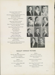 Page 13, 1932 Edition, Western State Colorado University - Curecanti Yearbook (Gunnison, CO) online yearbook collection