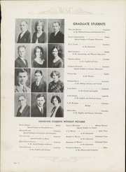 Page 14, 1932 Edition, Western State Colorado University - Curecanti Yearbook (Gunnison, CO) online yearbook collection