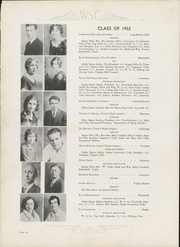 Page 16, 1932 Edition, Western State Colorado University - Curecanti Yearbook (Gunnison, CO) online yearbook collection