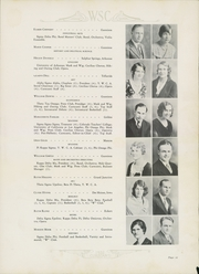 Page 17, 1932 Edition, Western State Colorado University - Curecanti Yearbook (Gunnison, CO) online yearbook collection