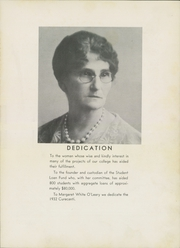 Page 7, 1932 Edition, Western State Colorado University - Curecanti Yearbook (Gunnison, CO) online yearbook collection