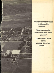 Page 5, 1953 Edition, Western State Colorado University - Curecanti Yearbook (Gunnison, CO) online yearbook collection