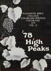Page 7, 1978 Edition, Nazarene Bible College - High Peaks Yearbook (Colorado Springs, CO) online yearbook collection
