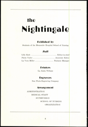 Page 6, 1936 Edition, La Junta Mennonite School of Nursing - Nightingale Yearbook (La Junta, CO) online yearbook collection