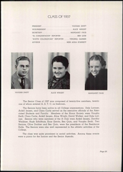 Adams State University - El Conquistador Yearbook (Alamosa, CO) online yearbook collection, 1937 Edition, Page 29