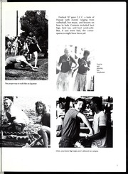 Page 11, 1988 Edition, Colorado Christian University - Cross Current Yearbook (Lakewood, CO) online yearbook collection