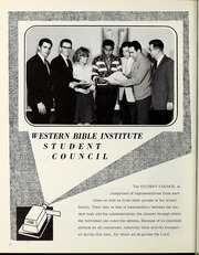 Page 10, 1966 Edition, Western Bible College - Yearbook (Denver, CO) online yearbook collection