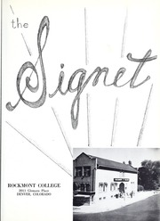Page 7, 1953 Edition, Rockmont College - Yearbook (Denver, CO) online yearbook collection