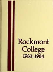 1984 Edition, Rockmont College - Yearbook (Denver, CO)