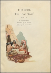 Page 7, 1927 Edition, Dalhart High School - Lone Wolf Yearbook (Dalhart, TX) online yearbook collection