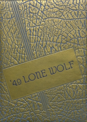 Page 1, 1949 Edition, Dalhart High School - Lone Wolf Yearbook (Dalhart, TX) online yearbook collection